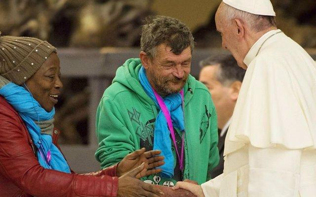 El Papa Francisco celebra el Jubileo de los Pobres en el Vaticano