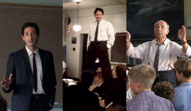 Adrien Brody, Robin Williams y Gérard Jugnot