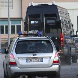 Coches de la policia italiana