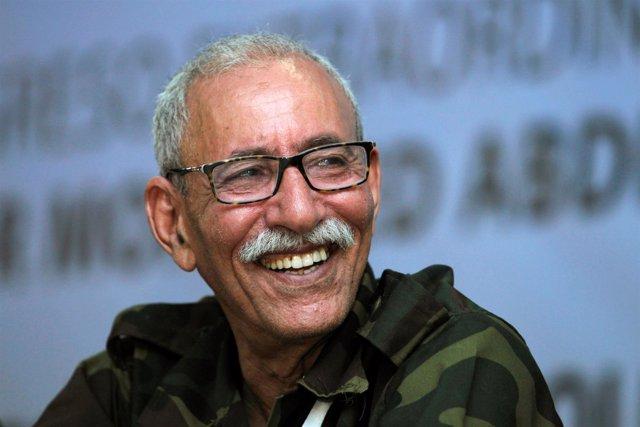 El líder del Frente Polisario, Brahim Ghali