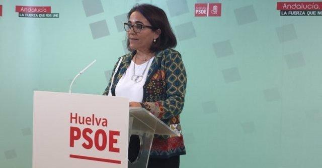 La socialista Pepa González Bayo