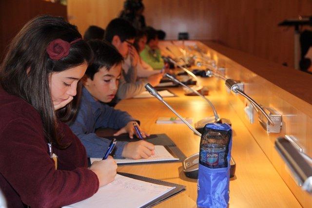 Pleno infantil de 2015 de la Diputación de Málaga