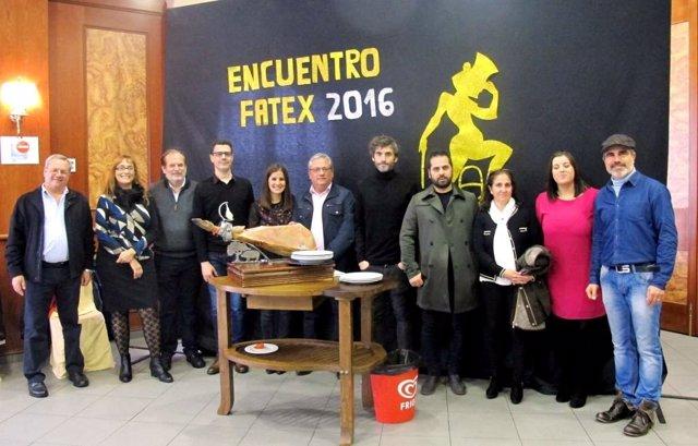 Gil Rosiña en el encuentro con FATEx