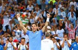 Un heroico Del Potro fuerza el quinto partido en la final de Copa Davis ante Croacia
