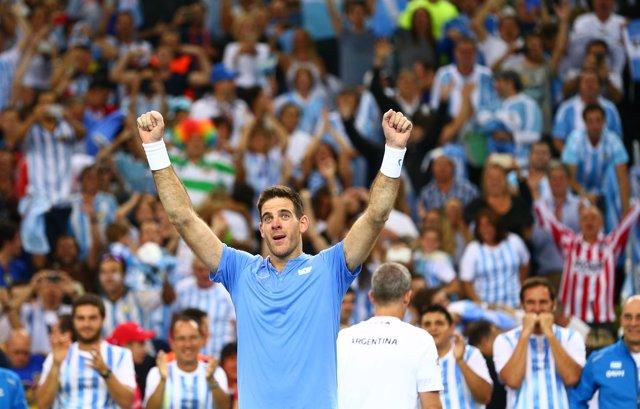 Un heroico del Potro fuerza el quinto partido en la final de Copa Davis ante Cro