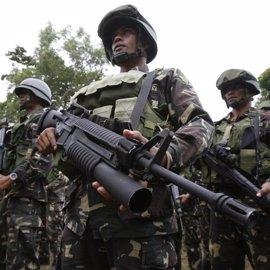 Once miembros de un grupo islamista muertos en una operación del Ejército filipino