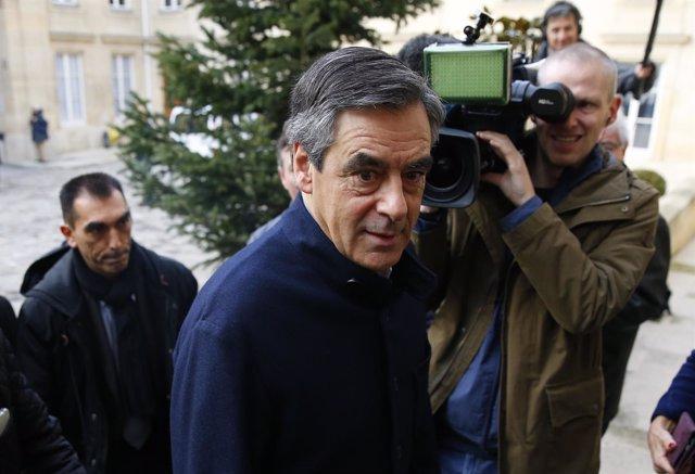 El precandidato presidencial de la derecha francesa, François Fillon