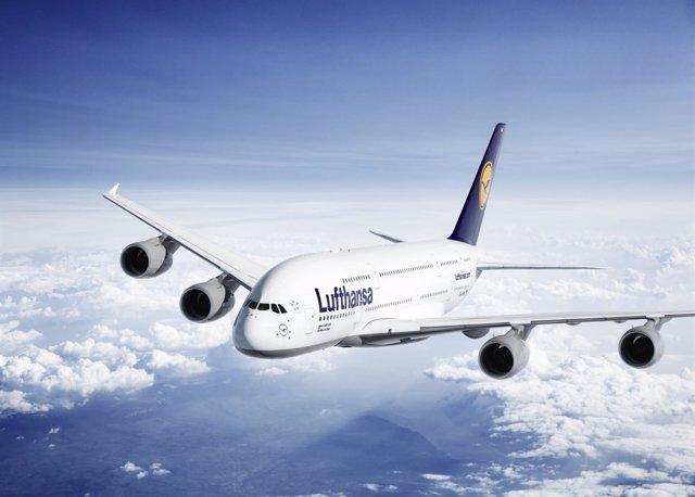 Avión de Lufthansa