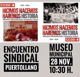 Puertollano acoge el 40º aniversario de CCOO Castilla-La Mancha