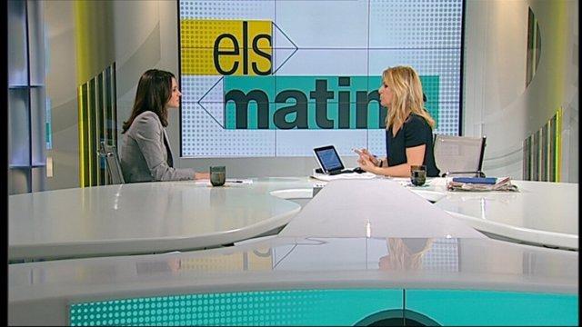 Inés Arrimadas en TV3