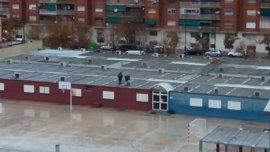 Educación suspende las clases en el colegio 103 tras el episodio de fuertes lluvias