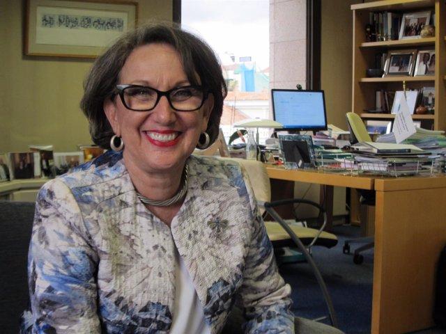 La secretaria general Iberoamericana, Rebeca Grynspan,