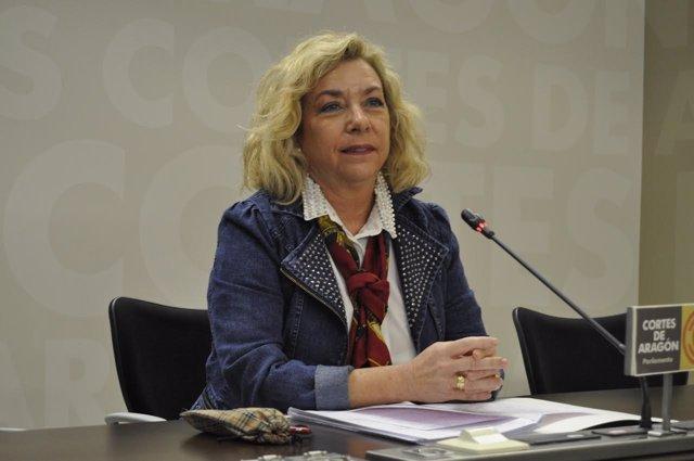 La diputada del PP Aragón, Dolores Serrat.