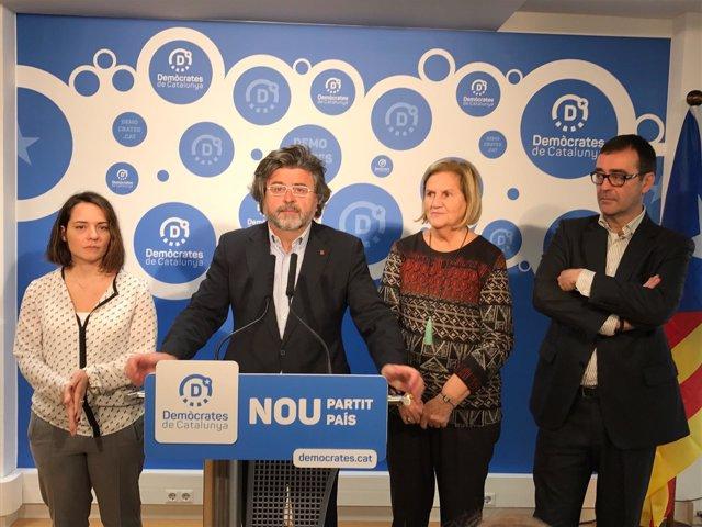 Cristina.Rubies, Antoni Castellà, Núria de Gispert, Joan Recasens (Demòcrates)