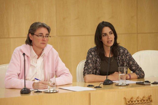 Marta Higueras con Rita Maestre