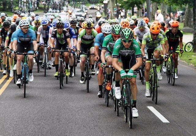 Miguel Ánel Benito, ciclista del Caja Rural-Seguros RGA