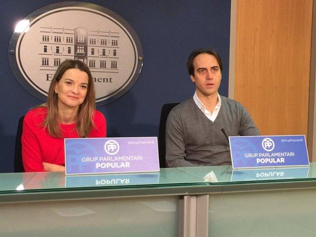 Prohens y Gijón en rueda de prensa