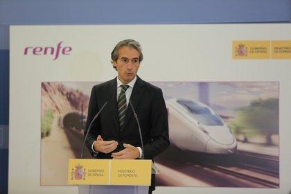 De la Serna descarta que un eventual recurso de Alstom paralice el contrato del AVE