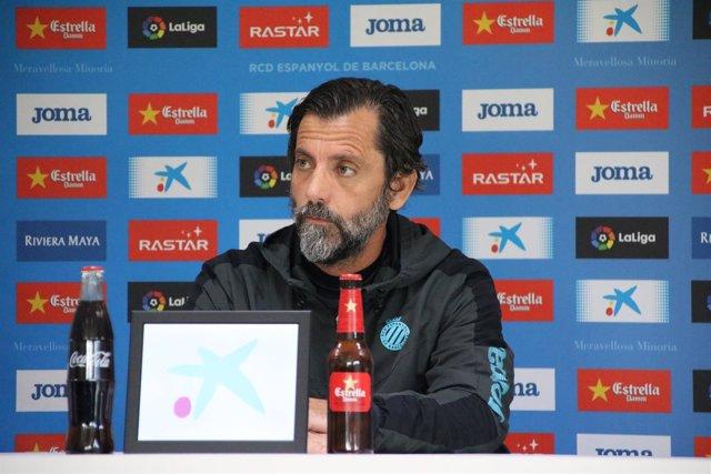 Quique Sánchez Flores. Entrenador del Espanyol
