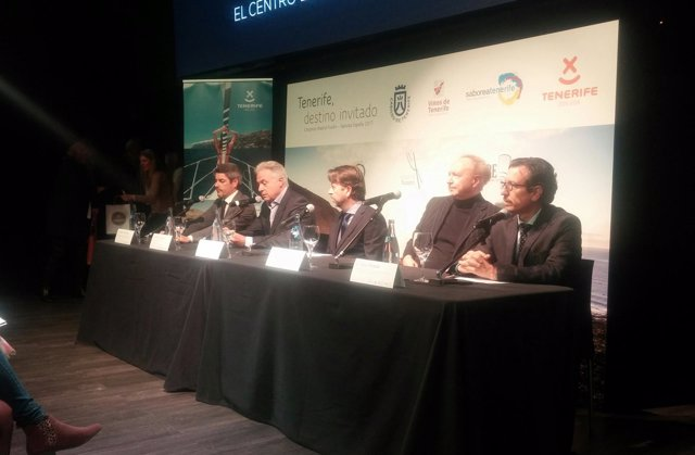 Presentación de Tenerife como invitada en Madrid Fusión