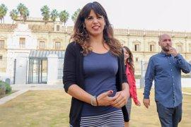 Podemos pide a Díaz y Moreno que sus partidos en Bruselas alivien la presión económica