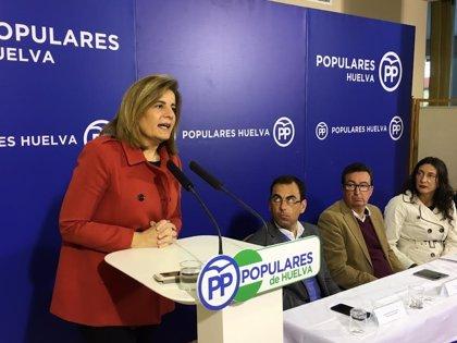 Báñez traslada a los jubilados que las pensiones están garantizadas por el empleo