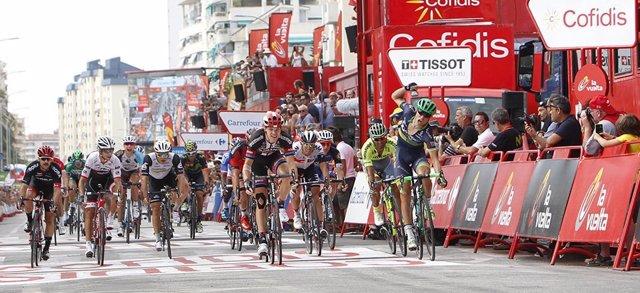 Magnus Cort Nielsen La Vuelta