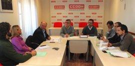 CCOO, PSOE, Unidos Podemos y C's piden que los PGE impulsen la SE-40, los cercanías, la comisaría y el metro
