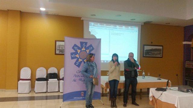 María, segunda parada comarcal del Consejo Provincial de la Mujer.