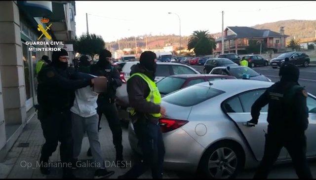Detienen a dos yihadistas en Galicia