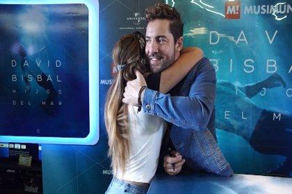Gran recibimiento a David Bisbal en Argentina