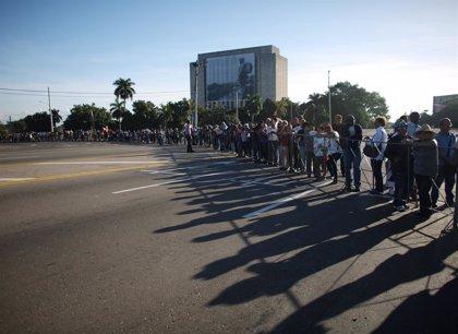 Cuba.- Colas de varias horas para acceder al memorial de Fidel Castro en La Habana