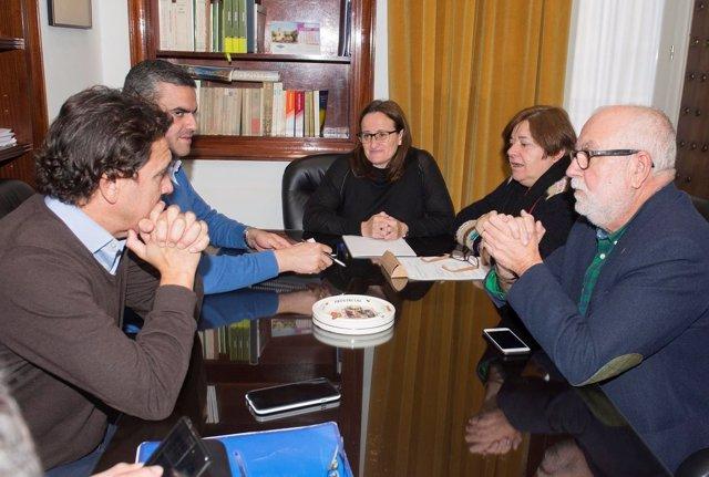 Reunión en Diputación municipios afectados por las lluvias