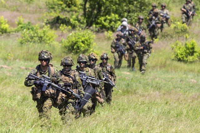 Militares de las Fuerzas Armadas de Canadá