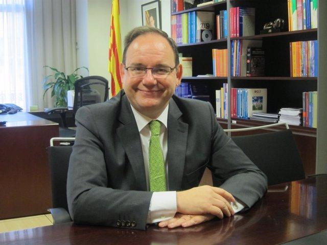 El presidente del Ctesc, Lluís Franco