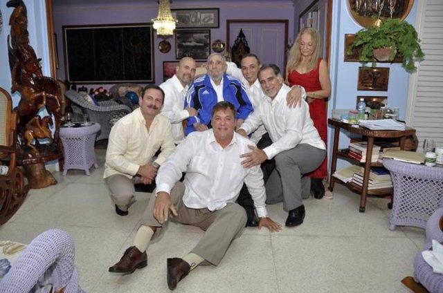 Fidel Castro y 'los Cinco'