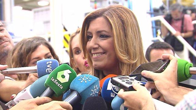 """Susana Díaz: """"Estaré en la cabeza o en la cola"""""""