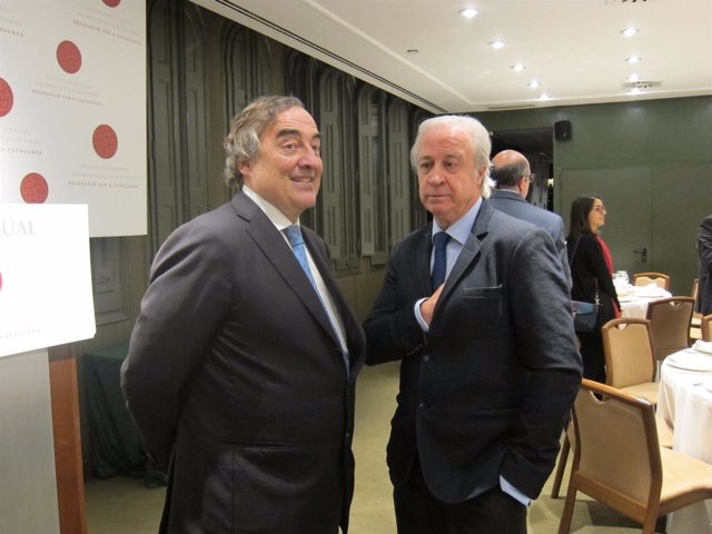 Joan Rosell y Carlos Tusquets