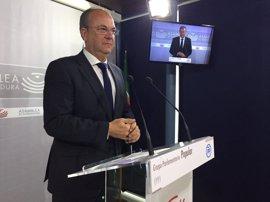 El PP no presentará enmienda a la totalidad del proyecto de PGEx para 2017