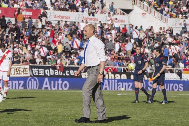 Paco Jémez entrenador del Rayo Vallecano