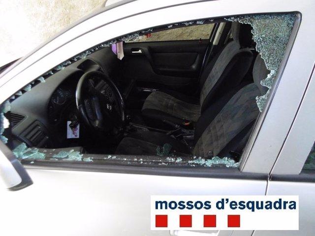 Prisión para un detenido por robar en coches de la provincia de Girona