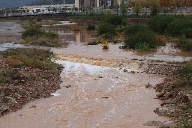 El río Palancia a su paso por Sagunto
