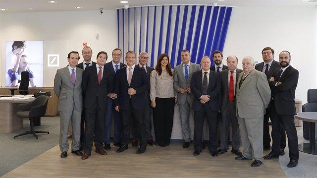Ndp Deutsche Bank Inaugura Una Nueva Oficina En Sevilla
