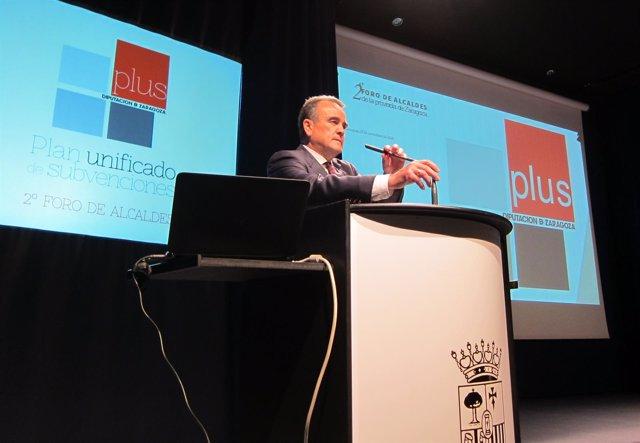 Sánchez Quero ha presentado el plan DPZ Plus en el II Foro de Alcaldes
