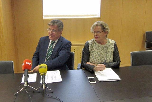 López (i) y Nafría (d)