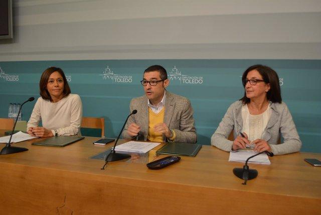 Diputación Toledo (Nota De Prensa, Cortes Y Fotografías) Convenio Agentes Iguald
