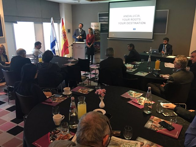 Andalucía lleva 'Tus raíces' a Israel.