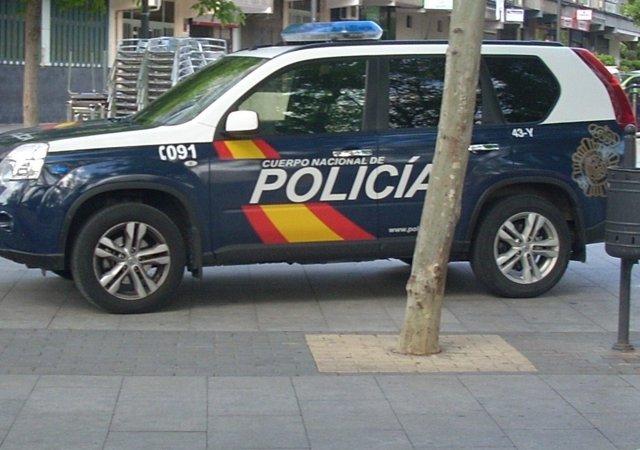 Coche Policía Getafe