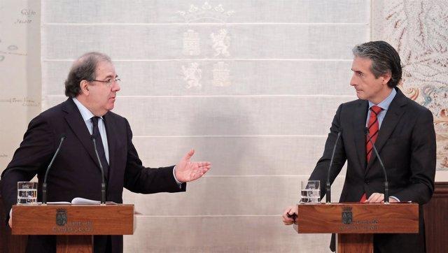Herrera y De la Serna tras su primera reunión