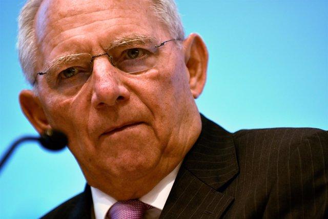 El ministro de Finanzas alemán, Wolfgang Schaeuble
